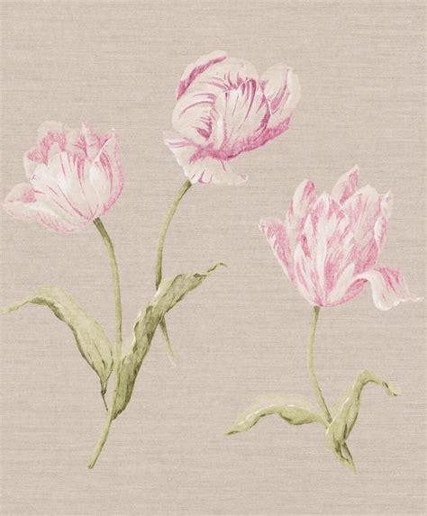Rasch Tapete Blumen by Vliestapete Rasch Textil Blumen Natur Cremegrau 227580