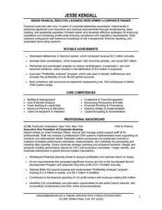 Cfo Resume Keywords by Sle Cfo Resume Free Resumes Tips