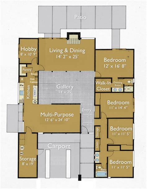 floor plan   eichler home architecture home plans