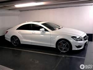 Mercedes Classe C Blanche : mercedes benz cls 63 amg c218 14 juin 2012 autogespot ~ Gottalentnigeria.com Avis de Voitures
