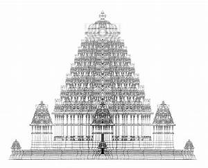 Indian Temple Architecture Drawings hindu temple, india ...