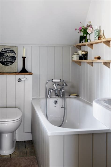 tongue and groove bathroom ideas grey tongue and groove panelling small space design