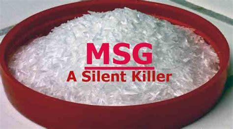 msg in food msg a silent killer naet dubai
