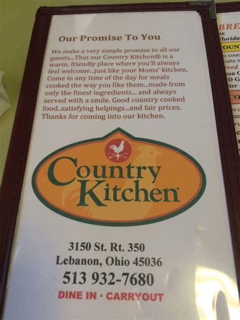 country kitchen lebanon ohio country kitchen restaurant 39 photos 45 reviews 6086