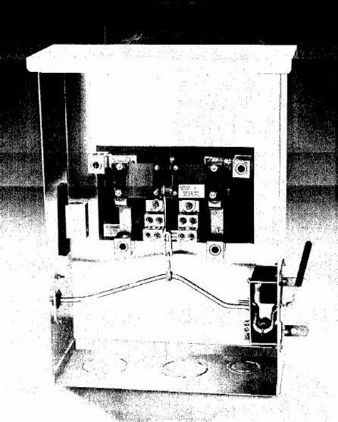 ronk manual transfer switch   single