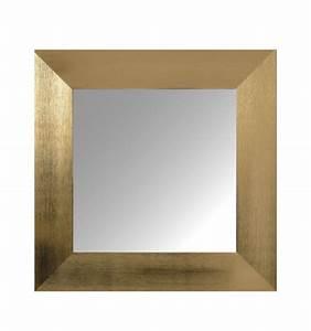 Grand Miroir Design : miroir dor design et tendance vander 60 x 60 cm ~ Teatrodelosmanantiales.com Idées de Décoration