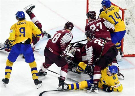 Hokeja zeme Latvija: joprojām iekārojams, joprojām dārgs   Ģērbtuve