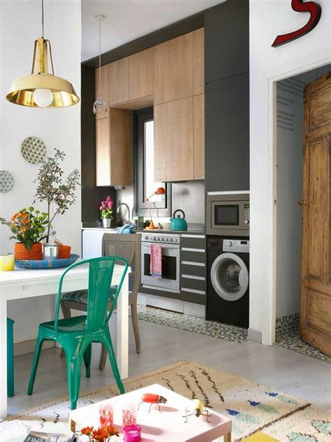 mini cocinas como aprovechar el espacio en cocinas muy