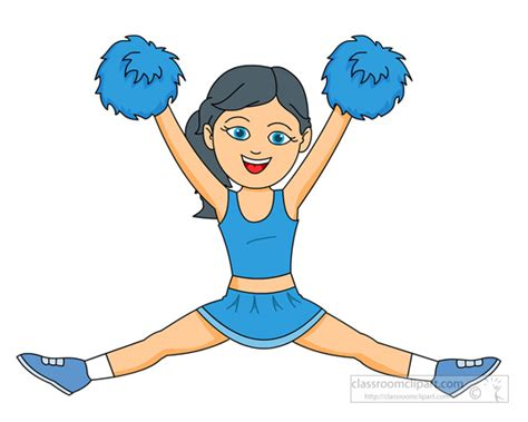 cheerleading clipart free cheerleading clip pictures clipartix