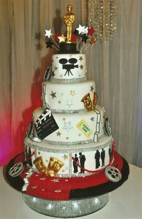 Hollywood Themed Cake  Hollywood Cakes Pinterest