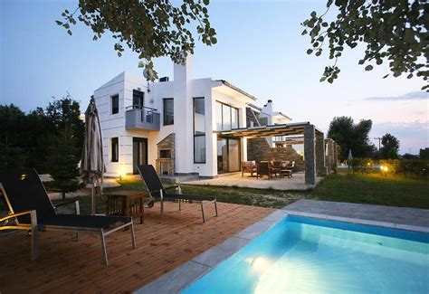 sunny sani luxury villas sani beach updated  prices