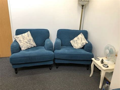 Ikea Stocksund 3- Seater Sofa And 2 Armchairs For Sale