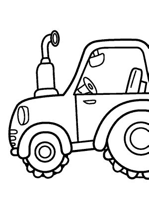 tractor transportation coloring pages  kids printable