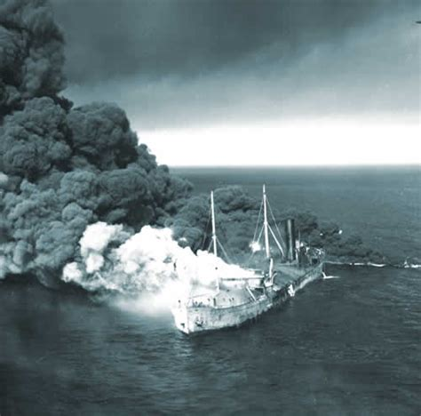 German U Boats Sunk American Ships by Operation Drumbeat U Boats Offshore History War Politics