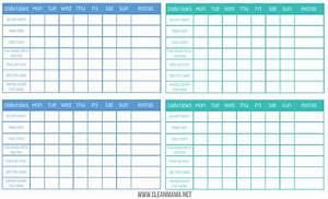Money Earning Chore Chart Chore Chart Archives Clean Mama