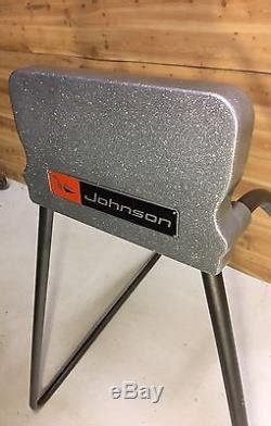 vintage restored omc johnson outboard motor mount stand