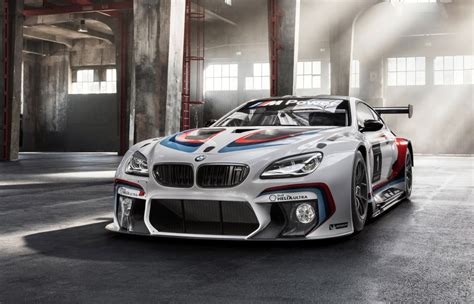 2016 Bmw M6 Gt3 Races Into Frankfurt