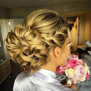 10 Beautiful Updo Hairstyles for Weddings: Classic Bride Hair Styles 2018