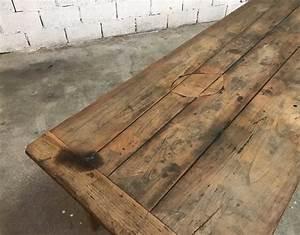 Table Ancienne De Ferme : ancienne table de ferme bois massif en 233 cm ~ Dode.kayakingforconservation.com Idées de Décoration
