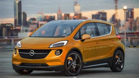 Opel Productions by Chevrolet Bolt Ev Concept Rendered As A Production Ready