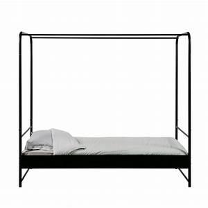 Lit Metal Enfant : lit en m tal 90 x 200 cm bunk drawer ~ Teatrodelosmanantiales.com Idées de Décoration