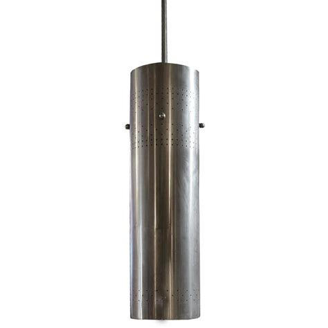 cylinder light fixture american mid century cylinder light fixture for at