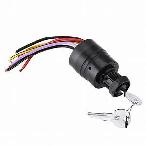 Ignition Switch Push To Choke Replacement 87