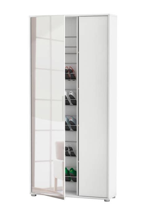 armoire a chaussures miroir maison design modanes
