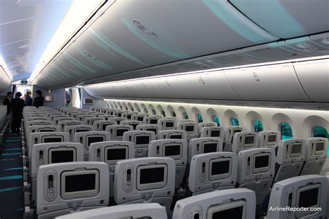 interior photo   anas  boeing  dreamliner