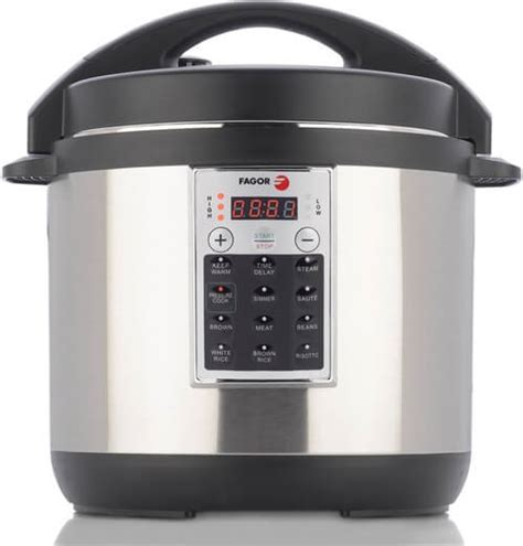 pressure cooker electric cookers non stick steel stainless fagor cooking elite