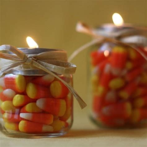 candy corn decor ideas  pinterest fall wood