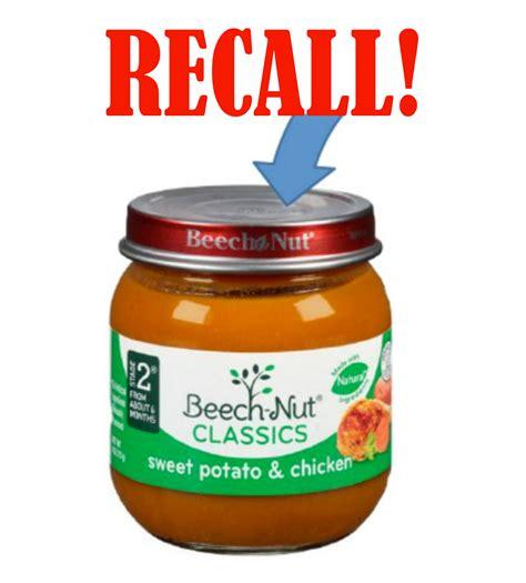 beechnut baby food recall recall beech nut baby food