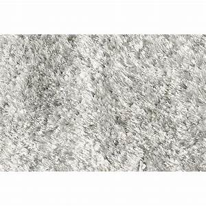 tapis shaggy grace 60 x 110 cm gris clair 8040 02 60x110 With tapis shaggy gris clair