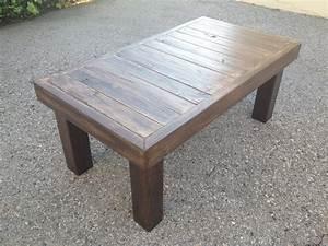 Diy Rustic End Table Plans Brokeasshome com