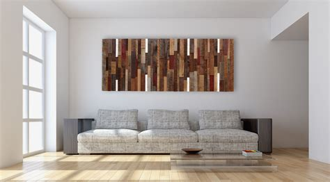 Wall Art Design Ideas Perfect Decoration Reclaimed Wood