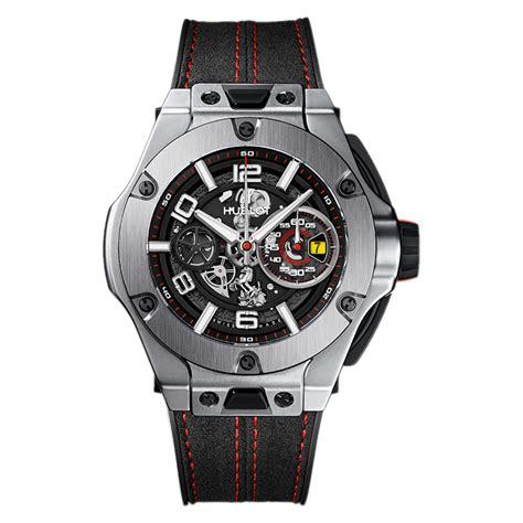 Ferrari is known as one. Hublot Big Bang Ferrari Unico Titanium 402.NX.0123.WR Titanium Watch | World's Best