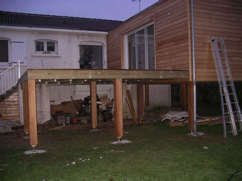 terrasse bois pilotis prix nos conseils