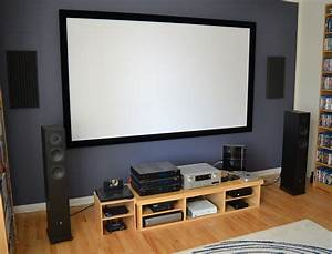"Naiera's 108"" living room theatre"