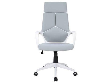 fauteuil de bureau basculant fauteuil de bureau seattle coloris gris blanc vente de fauteuil de bureau conforama