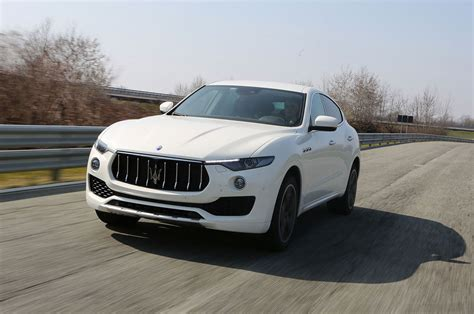 maserati levante 2017 maserati levante first drive review