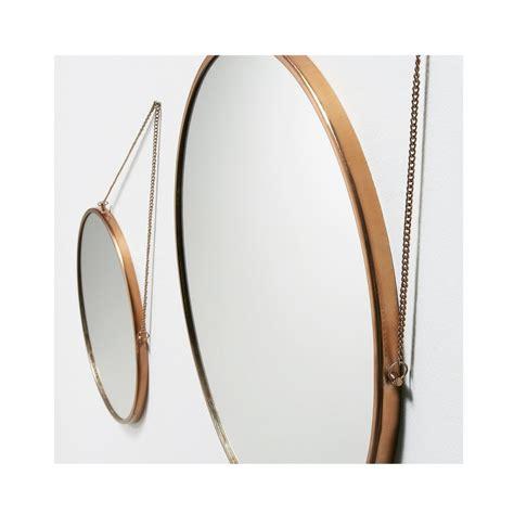 miroirs ronds  en metal dore icon par drawerfr