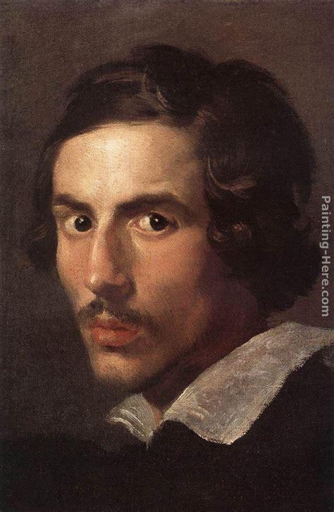 Gian Lorenzo Bernini Self-Portrait as a Young Man painting ...