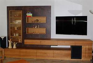 Tv Möbel Mit Integriertem Soundsystem : tv m bel schreinerei roth und schwarz ~ Bigdaddyawards.com Haus und Dekorationen