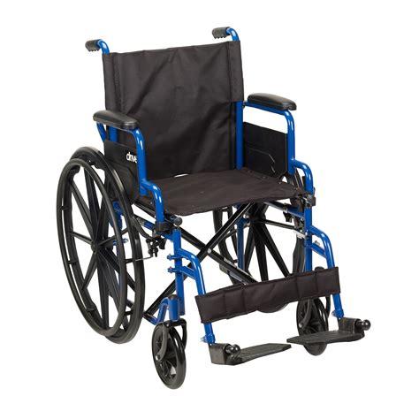 chaise handicap wc40 bls18fbd sf blue streak wheelchair with flip back