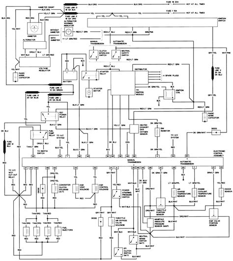 1990 Ford Ranger Wiring Schematic by Repair Guides Wiring Diagrams Wiring Diagrams