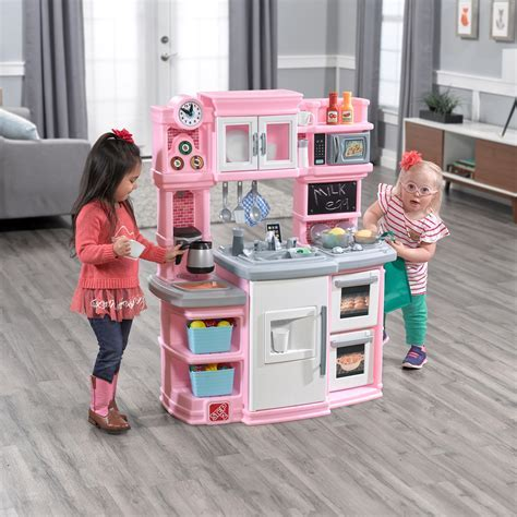 Great Gourmet Kitchen   Light Pink   Kids Play Kitchen   Step2