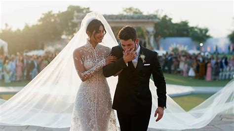 The Details Of Priyanka Chopra's Ralph Lauren Wedding Gown