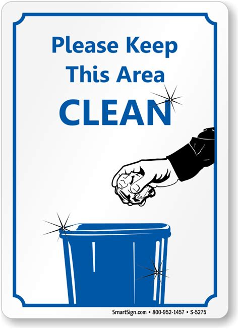 Office Kitchen Clean Up Signs by Office Courtesy Signs Sku S 5275