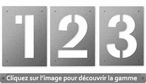 Plaque Numero Maison Design : num ro de maison achat vente de num ro de maison inox b ton ~ Melissatoandfro.com Idées de Décoration