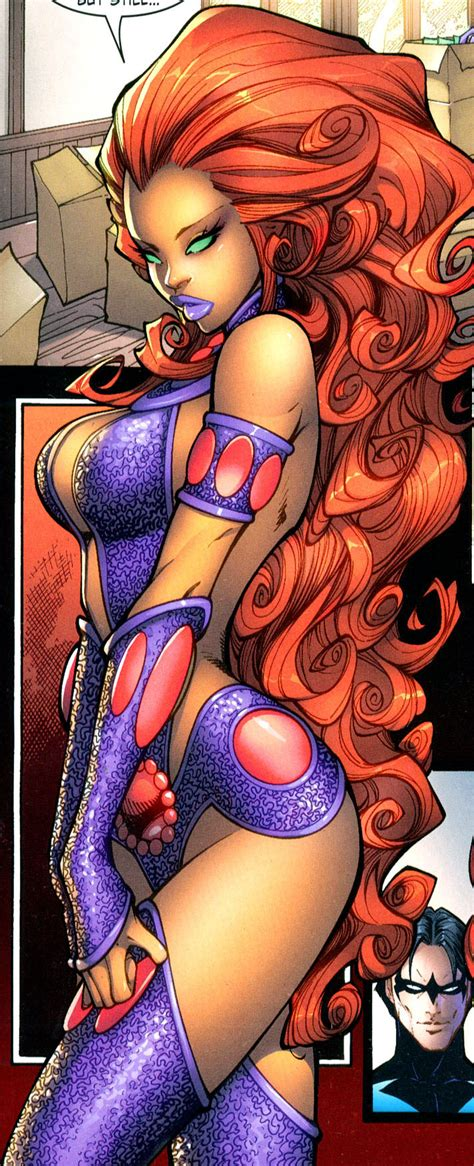 Naked Starfire Picture